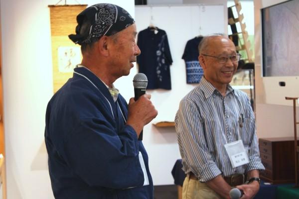 駿河塗下駄の佐野成三郎さんは、この道60年の大ベテラン。若い世代にも下駄を履いてもらいたいという気持ちを込めて作っているそうです。