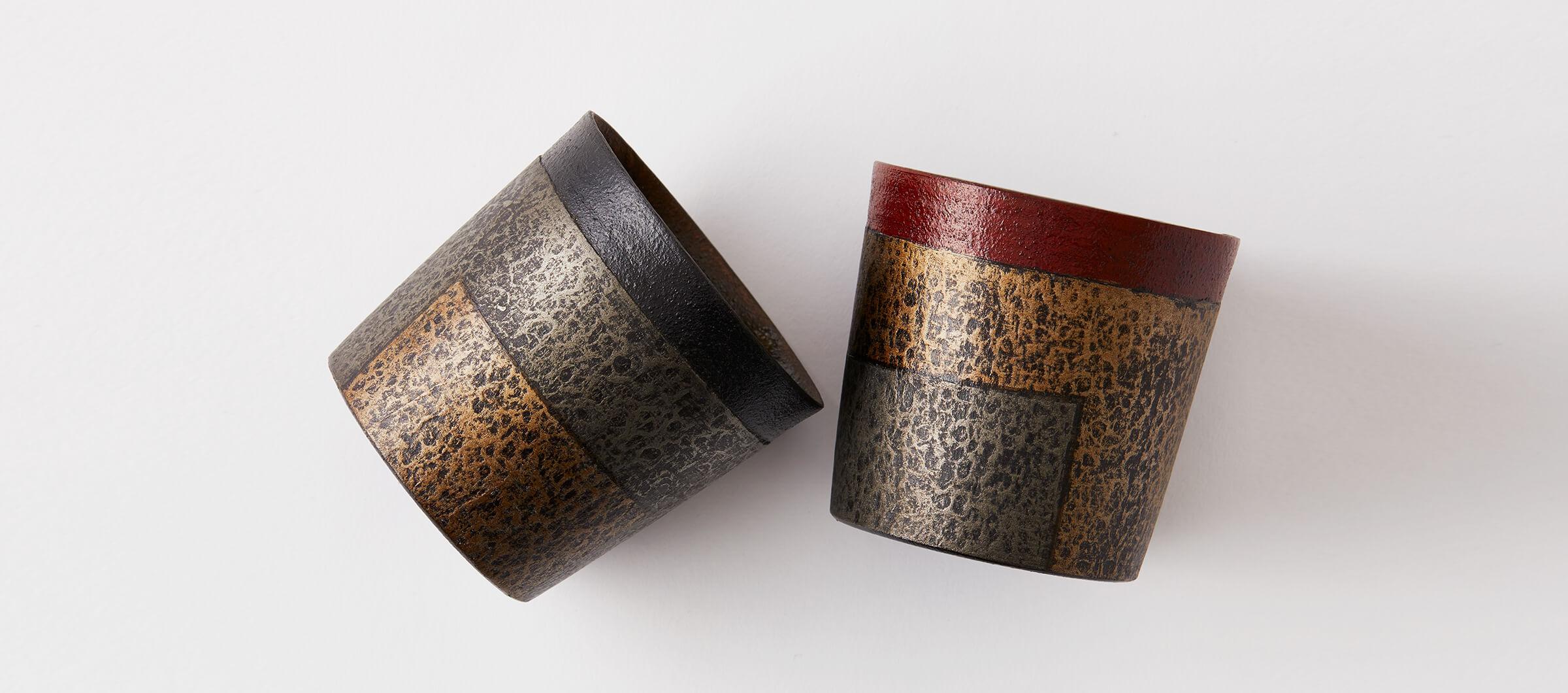 Sue, Echizen, lacquer, paper