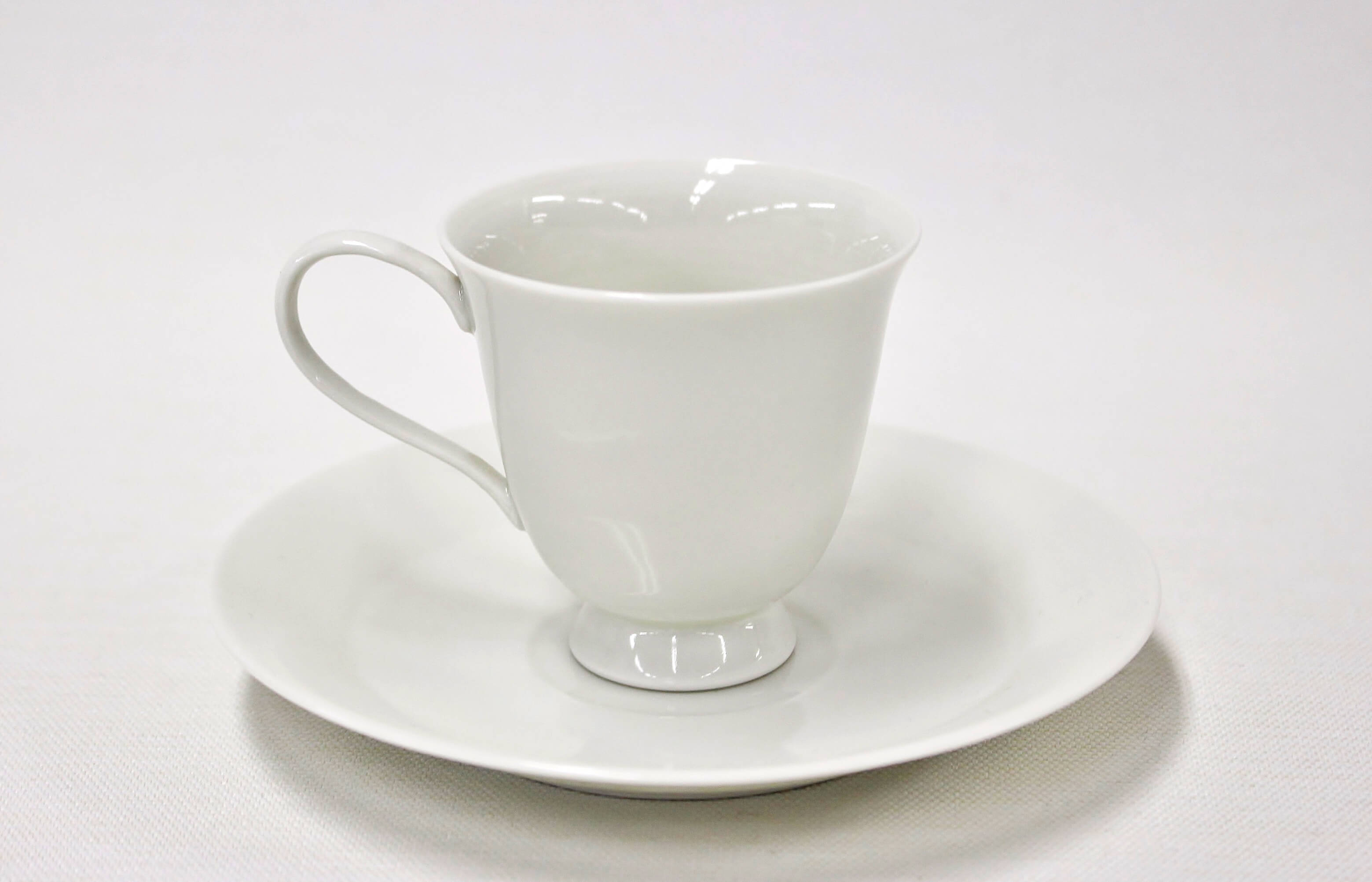 Hirato white porcelain bowl plate (with handle)