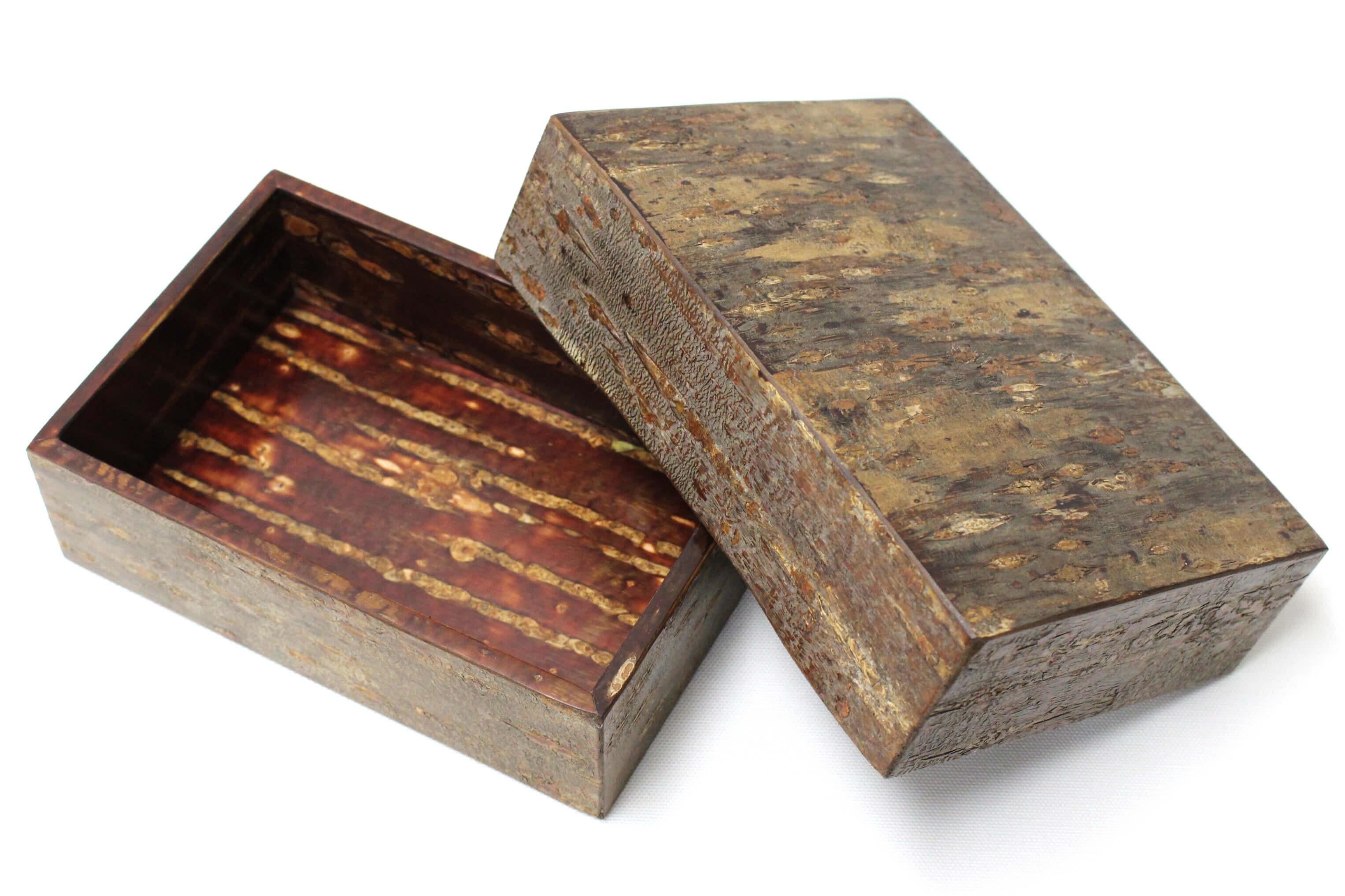 Box (the inside) of birch