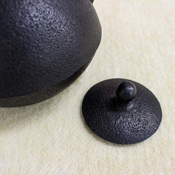 鉄瓶「算珠型」肌紋様 1.0L