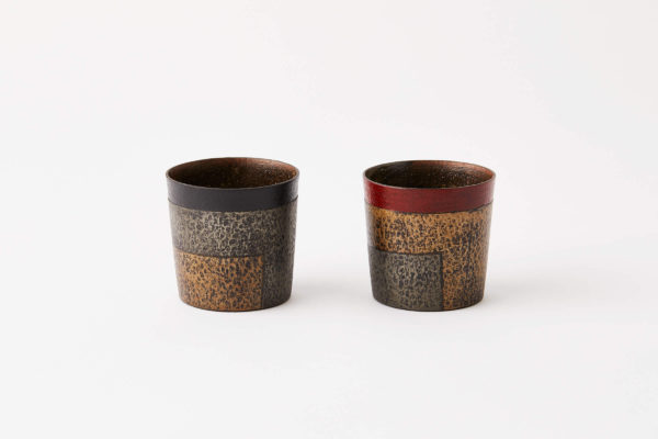 全国伝統的工芸品公募展作品名:越前 陶・漆・紙